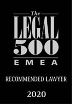 legal500 recomended lawyer 2020 cyprus